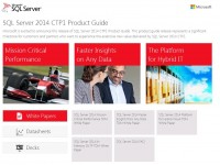 SQL Server 2014 CTP1 Product Guide