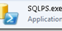 T-SQL Command Line Options – Part 5 – SQLPS